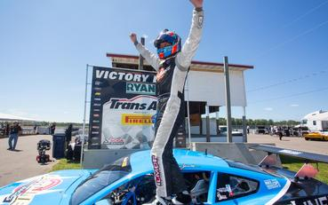 Tony Buffomante goes flag-to-flag in Trans Am TA2 victory at Brainerd
