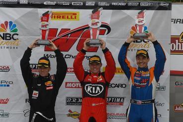 Third Podium in Five PWC Weekends for Buffomante
