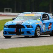 Enge, Buffomante On Top in GT, GTS Road America Practice